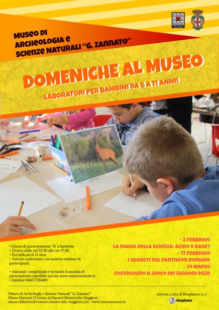 locandina domeniche museo